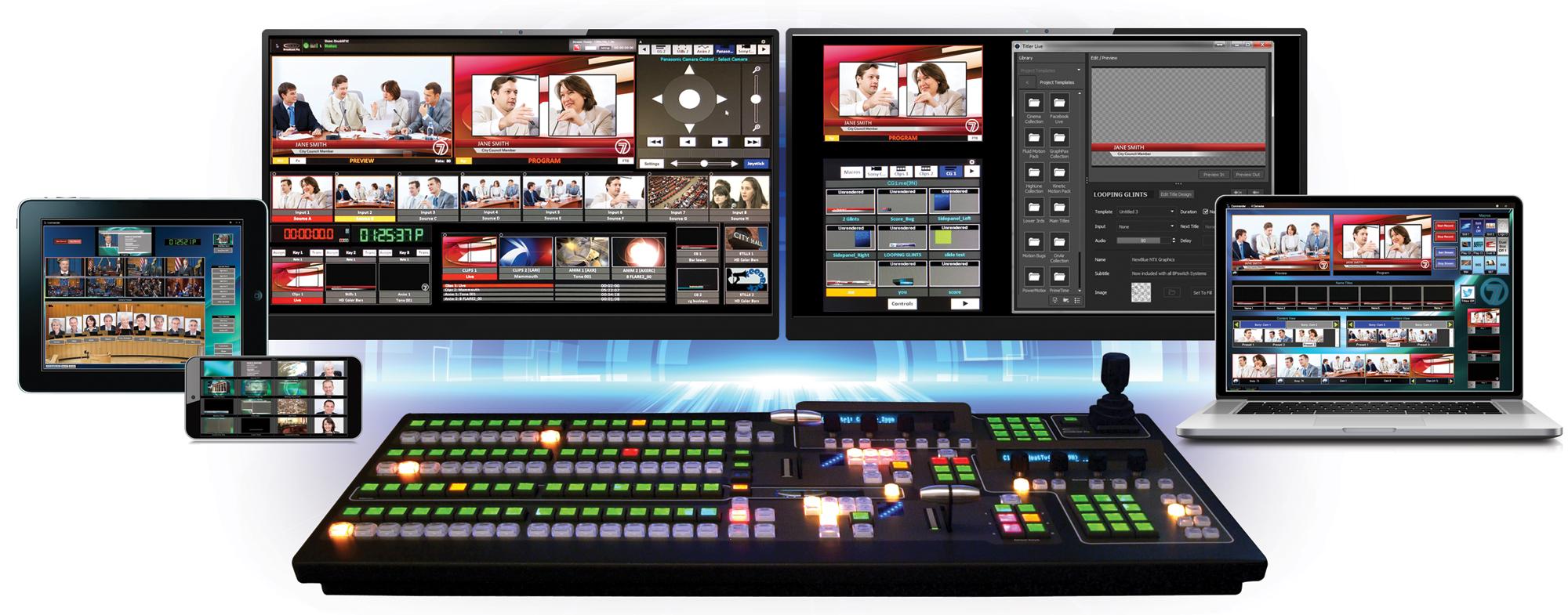 Broadcast Pix Control Surfaces | Broadcast Pix, Inc  [US]