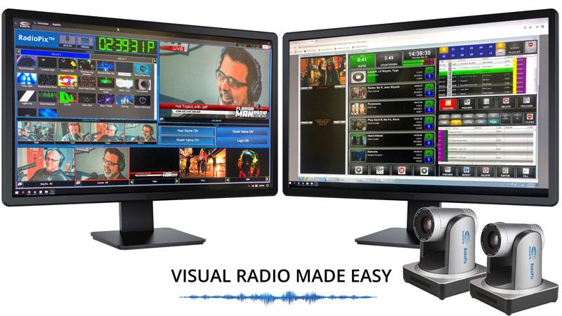 Broadcast Pix RadioPix Visual Radio Production Systems